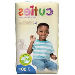 Cuties Baby Diapers: Premium Absorbency Size 7 Disposable  C