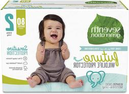 Seventh Generation Baby Diapers, Sensitive Protection, Size