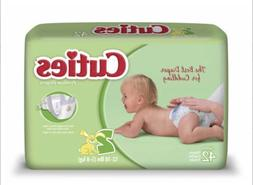 Cuties Baby Diapers, Size 2, Pack of 42, CR2001