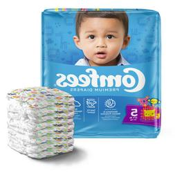 Comfees Baby Diapers Size 5, Case of 108 - CMF-5