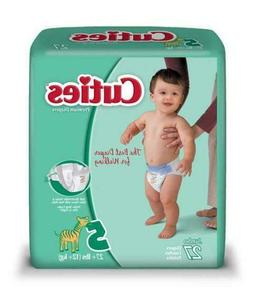 Cuties Baby Diapers, Size 5, Pack of 27, CR5001