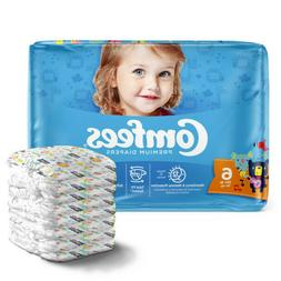 Comfees Baby Diapers Size 6, CASE OF 92
