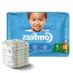 Comfees Baby Diapers Size 7, Case of 80 - CMF-7