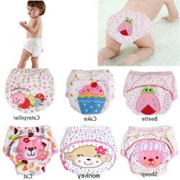 Baby Diapers Washable Reusable Nappies Cotton Training Pant