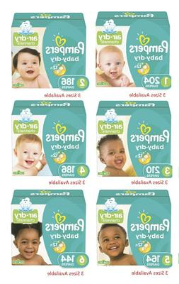 Pampers Baby-Dry Diapers Size 1, 2, 3, 4, 5, 6- ONE DAY DELI