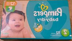 Pampers Baby Dry Diapers - Size 2