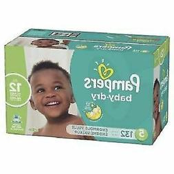 Pampers Baby Dry Diapers Size 5 - 132 Count, Multicolor