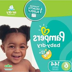 Pampers Baby-Dry Diapers Size 6