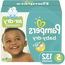baby dry disposable baby diapers 3 layers