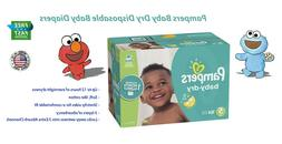 Pampers Baby Dry Disposable Baby Diapers, ONE MONTH SUPPLY -