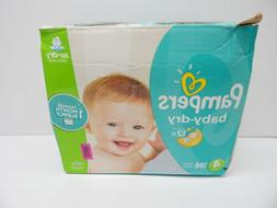Pampers Baby Dry Disposable Baby Diapers Size 4, 186 Count B
