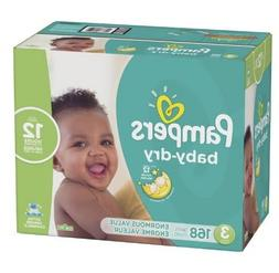 Pampers Baby Dry Disposable Diapers Enormous Pack  Size 3