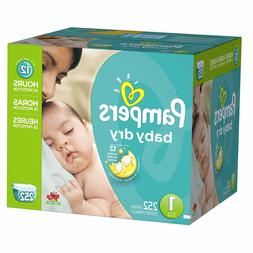Pampers Baby-Dry Disposable Diapers Size 1  *Free 2 day Ship