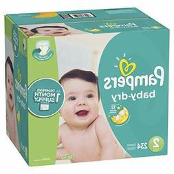 baby dry disposable diapers size 2 12
