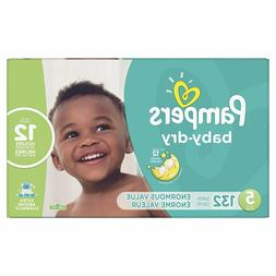 Pampers Baby-Dry Extra Protection Diapers, Size 5, 132 Ct