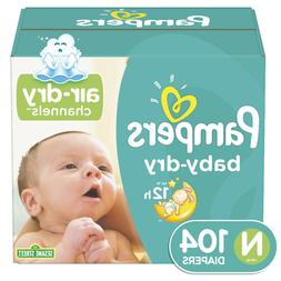 baby dry extra protection diapers size n