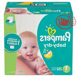 Pampers Baby Dry One-Month Supply Diapers  **BEST DEAL IN US
