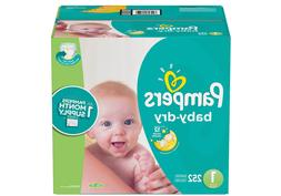 Pampers Baby Dry One-Month Supply Diapers - Sizes1/2/3/4/5/6