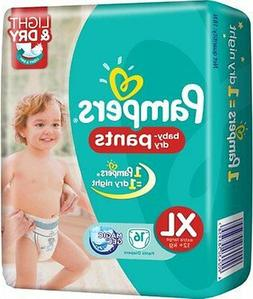 Pampers baby dry pants diaper extra large 16 Pieces