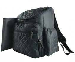 Baby Fashion Diaper Bag Backpack - Includes Bonus Built in C