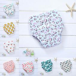Baby Girl Boy Cotton Underwear Toilet Potty Training Cloth D