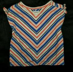 Gymboree baby Girls Chevron Stripe Cotton Stretch Dress+Diap