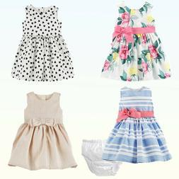 "Baby Girls Dress & Bloomers Carter's ""Dress Me Up""  2 Pc Set"