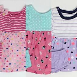 HEALTHTEX Baby Girls' Dress & Diaper Cover Set - Assorted