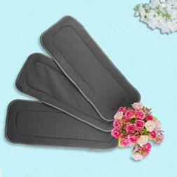 Baby Hemp Cloth Diaper Inserts Organic Cotton Nappy Liners W