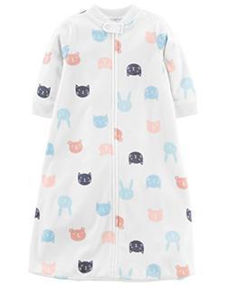 Carter's Baby Infant Microfleece Animal Sleepbag with Cats,