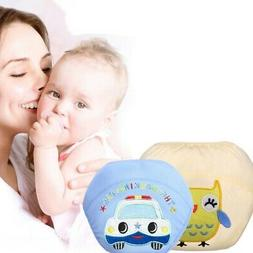 Baby Infants Reusable Nappies Washable Cloth Diaper Training