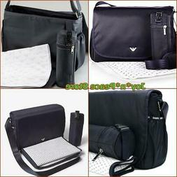 EMPORIO ARMANI BABY MESSENGER DIAPER BAG THERMAL INSULATED B