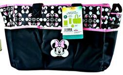 Disney Baby Minnie Mouse 4 pcs Diaper Bag Bottle, Pacifier T