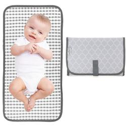 Baby Portable Changing Pad, Travel Mat Station, Grey, Compac