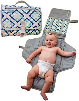 Baby Portable Diaper Changing Mat Pad Station waterproof tra