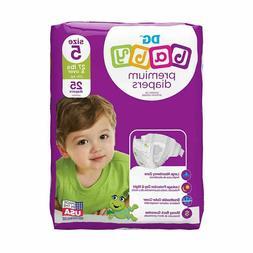 DG Baby Premium Jumbo Diapers - Size 5, 25 Ct.