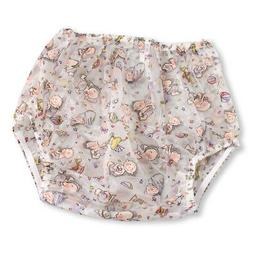 Baby Print Plastic Pants Diaper Cover for Adult Baby & Nappy