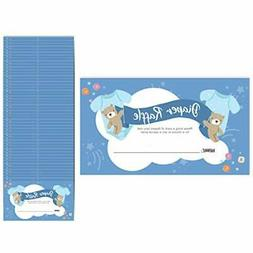 baby shower diaper raffle cards 2 25