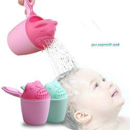 Baby Spoon Cute Shower Bath Water Swimming Bailer Shampoo Cu