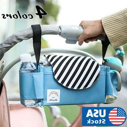 Baby Stroller Pram Pushchair Organizer Hanging Storage Bag B