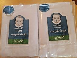Gerber Baby Unisex 10-Pack Flat Certified Oeko-Tex Organic C