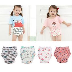 Baby Waterproof Training Pants Infant Cotton Diaper Nappies