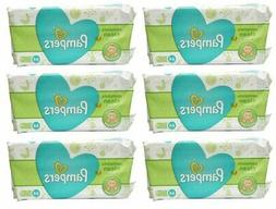 baby wipes natural clean unscented 64ct 6