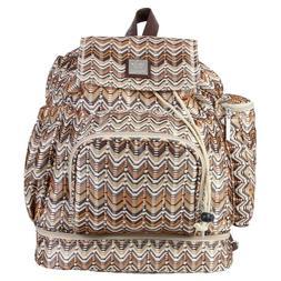 Kalencom Backpack Diaper Bag - Ripples Harvest