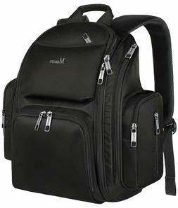 Backpack Diaper Bag,Waterproof Baby Travel Bag for Dad&Men,L