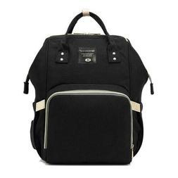 Backpack Multi-Function Bag Baby Diaper Nappy Polka Dot Grey