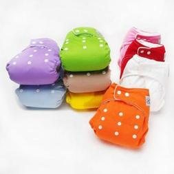 Bag Reusable Adjustable Baby Cloth Diaper Waterproof Soft Di