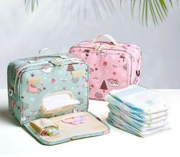 Bags Diaper Baby Maternity Fashion Wet Dry Double Handle For