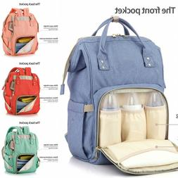 Big Nappy Diaper Mummy Bag Multifuntional Travel Backpack wa