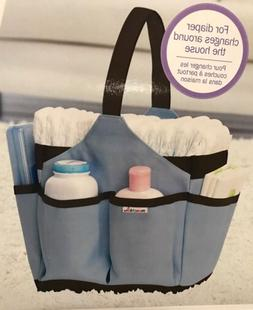 Blue Munchkin Portable Diaper Caddy Changing Kit Baby Storag